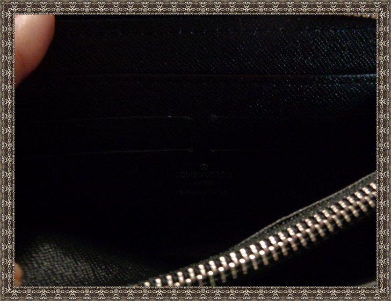 Image 2 of Louis Vuitton Monogram Black Zip Around Long Wallet For Women