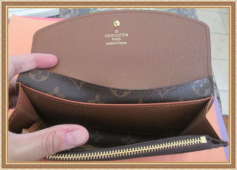 Image 2 of Brown In Color Leather Long Classy Luxury Wallet For Women