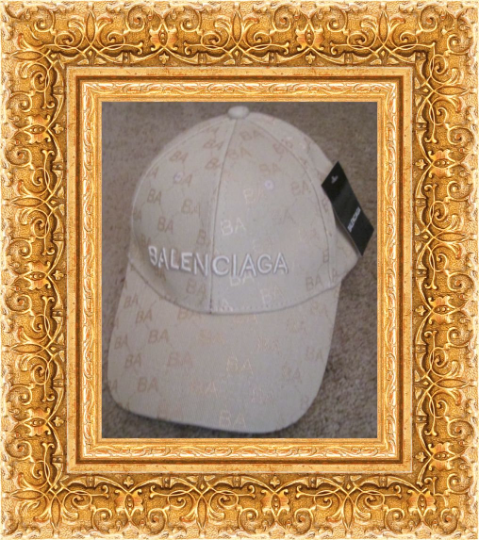 Image 0 of Beige Luxury Classy Baseball Hat/Cap Unisex Adjustable To Fit Most