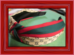 Brown Green Red And Black Headband Luxury Style For Girls Or Women Classy Style