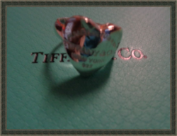 925 Sterling Silver Vintage Ring Size 6 Heart Shaped Luxury Style