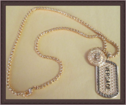 Gold Tone Luxury Classy Style Necklace For Men