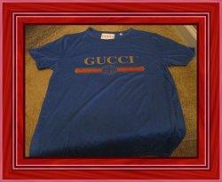 Blue Medium Luxury Classy Style Shirt Unisex For Teenager