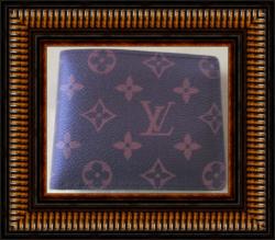 Brown Leather Bi-Fold Luxury Style Wallet For Men