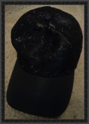 Black Luxury Classy Adjustable Baseball Hat/Cap Unisex