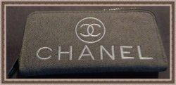 Gray & White Zippy Long Wallet For Women