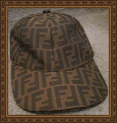 Brown Baseball Hat Unisex Adjustable