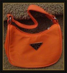 Orange Small Handbag For Kids (Girls)