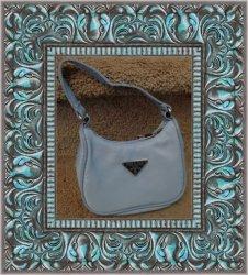 Blue Nylon Small Handbag For Kids (Girls)