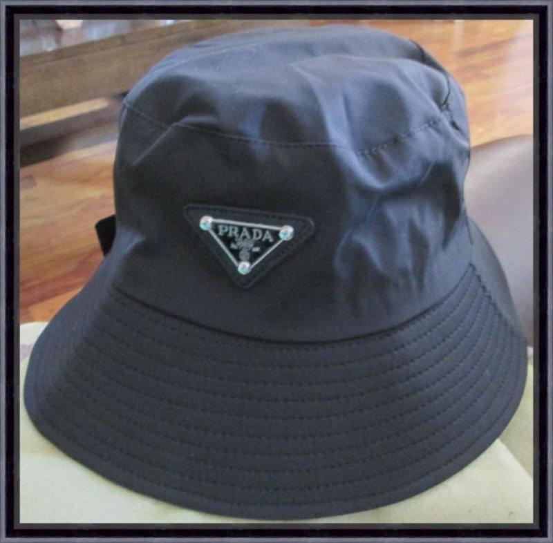 Image 0 of Black Bucket Hat For Women