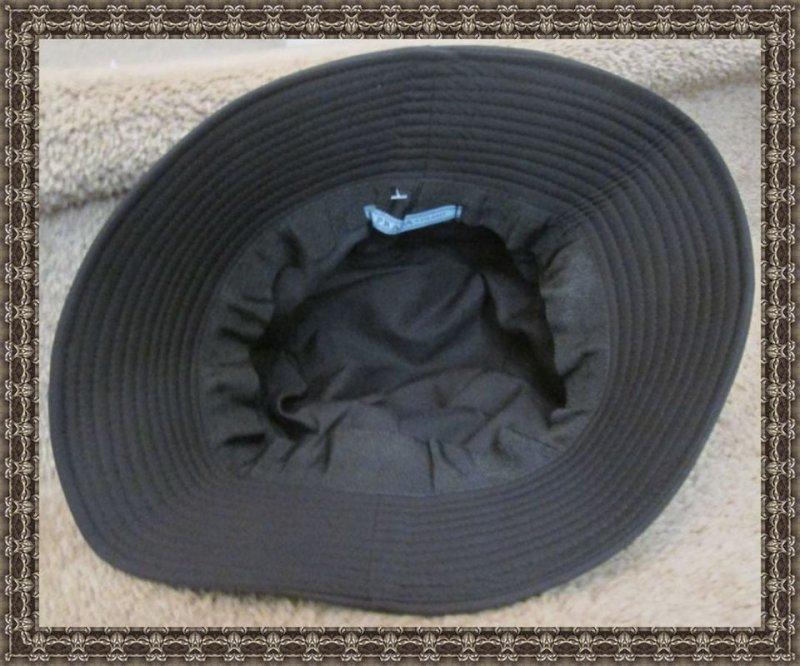 Image 1 of Black Bucket Hat For Women