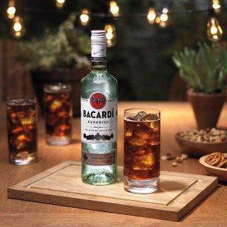 200ml Bottle of Bacardi