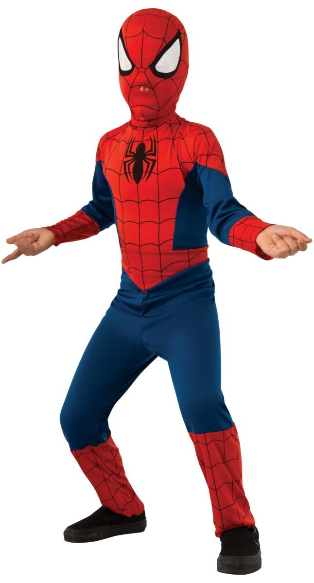 Image 2 of Rubie's Marvel Ultimate Spider-Man Costume, Child, Red, Blue
