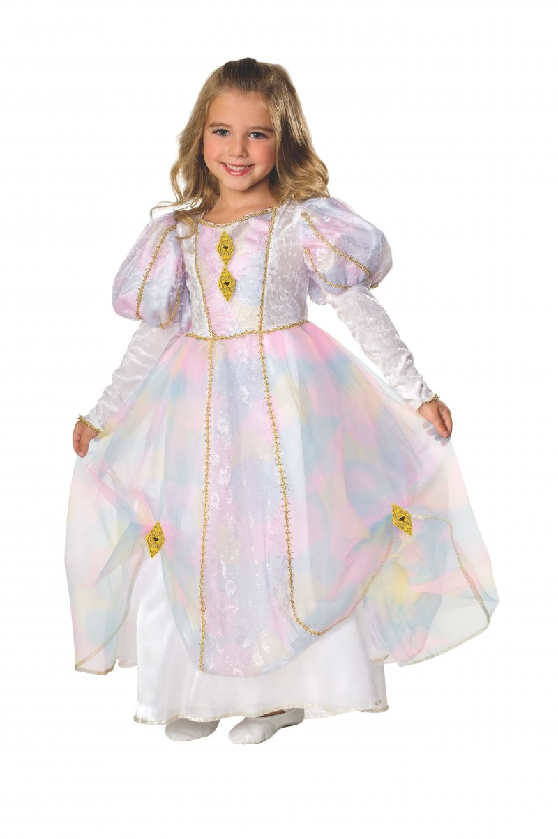 Image 1 of Rainbow Princess Dress Child, Rubies