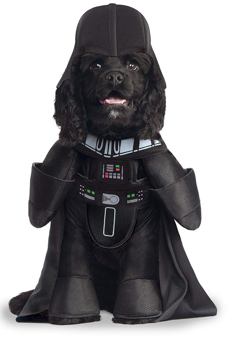 Image 1 of Star Wars Darth Vader Pet Costume, Large