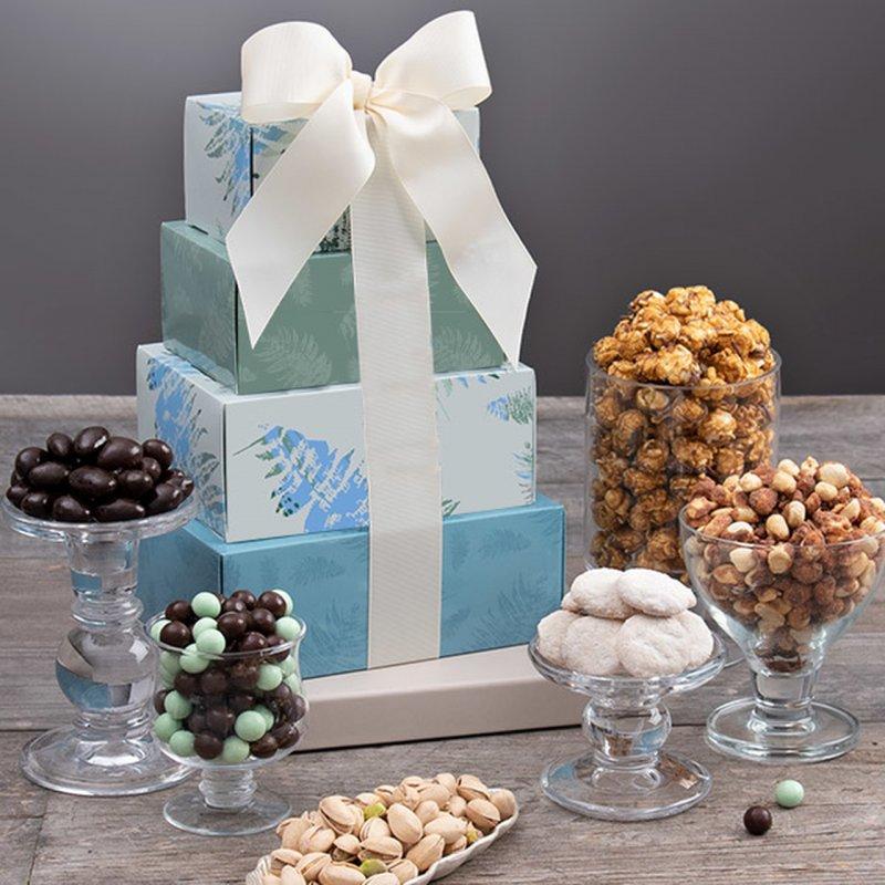 Image 0 of Festive Favorites: Gourmet Gift Tower
