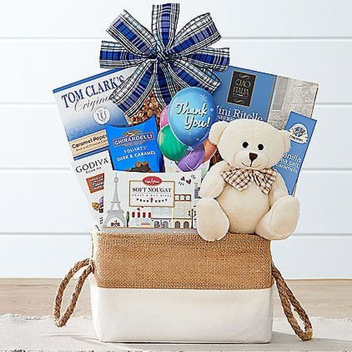Image 0 of Thanks!: Thank You Gift Basket