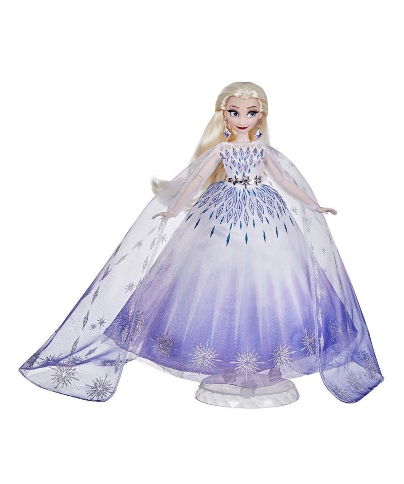 Image 0 of Disney Princess Style Series Holiday Elsa Fashion Doll, Hasbro
