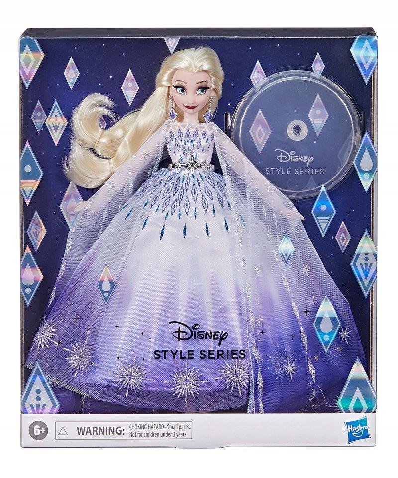 Image 2 of Disney Princess Style Series Holiday Elsa Fashion Doll, Hasbro