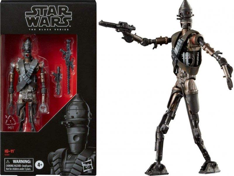 Image 0 of Star Wars Black Series IG-11 6-inch Action Figure, Hasbro