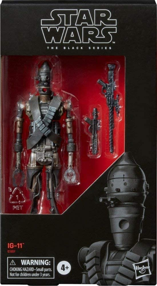 Image 2 of Star Wars Black Series IG-11 6-inch Action Figure, Hasbro