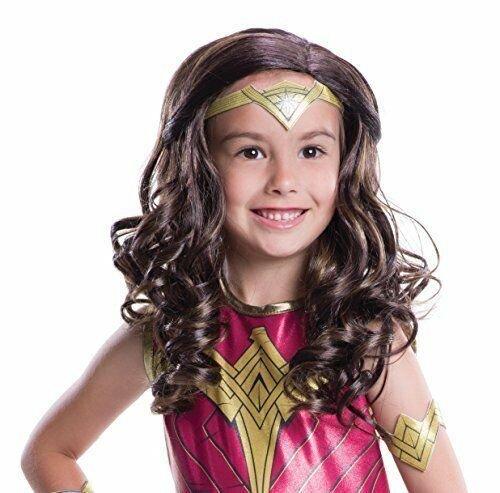 Image 1 of Rubie's Costume Batman V Superman: Dawn of Justice Wonder Woman Wig