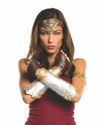 Rubies Wonder Woman Deluxe Accessory Kit Adult 32977