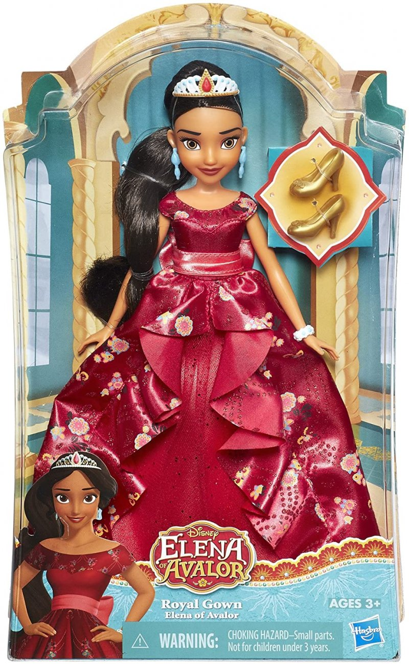 Image 1 of isney Elena of Avalor Royal Gown Doll in Regal Red by Hasbro