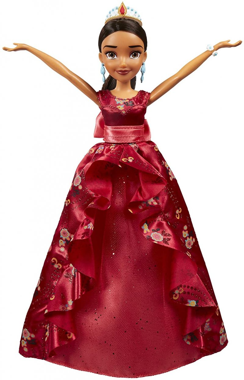 Image 3 of isney Elena of Avalor Royal Gown Doll in Regal Red by Hasbro