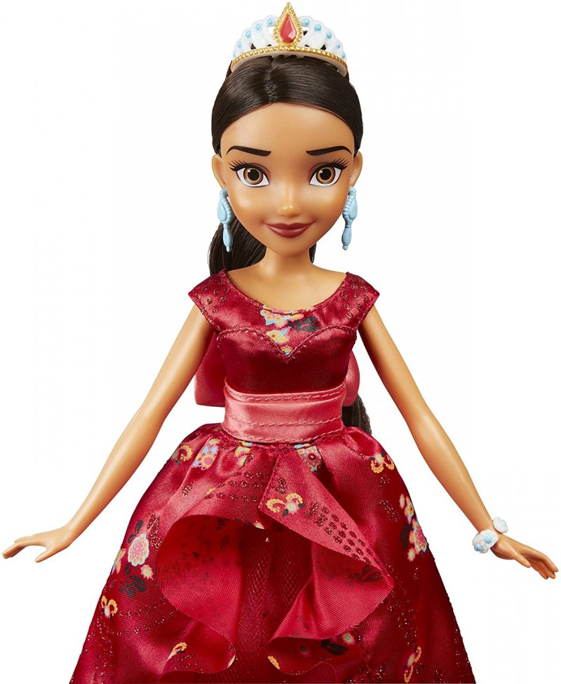 Image 4 of isney Elena of Avalor Royal Gown Doll in Regal Red by Hasbro