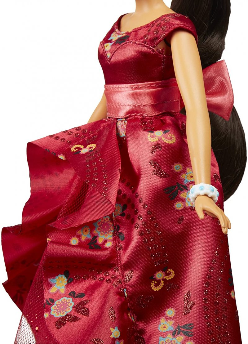 Image 5 of isney Elena of Avalor Royal Gown Doll in Regal Red by Hasbro