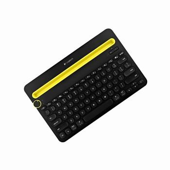 Image 0 of Logitech Keyboard K480 Black Bluetooth Wireless Mini Multi-Device
