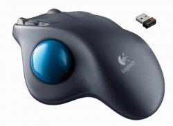 Logitech Mouse M570 Wireless Trackball Ergonomic Sculpted
