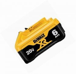 DeWalt Battery DCB206 Lithium Ion 20V 6 Amp HourExtended Run XR
