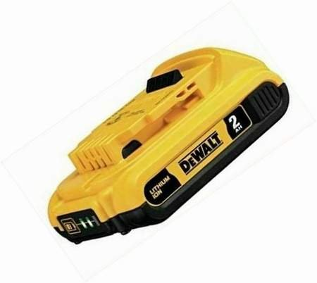Image 0 of Dewalt Battery DCB203 MAX Compact Lithium Ion Battery Pack 20V