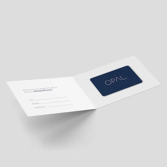 Opal Collection Gift Card