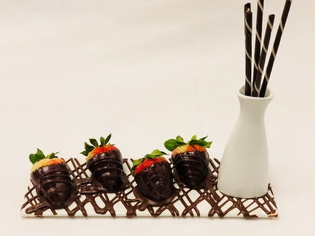 Decadent Chocolate Dipped Strawberries
