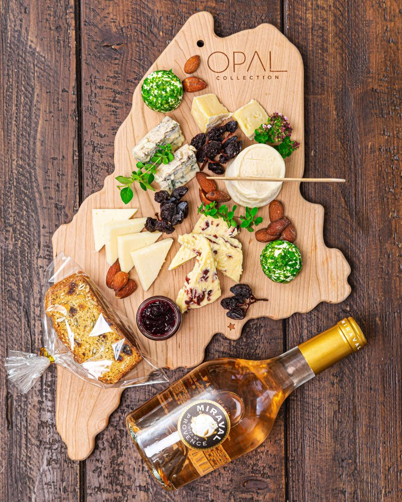 OPAL State of Maine Artisan Cheese Board