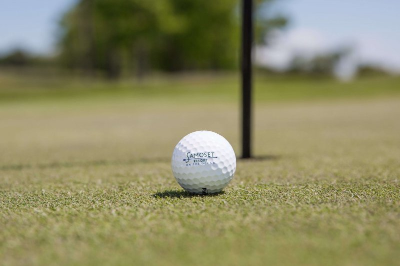 Resort Logo Golf Ball