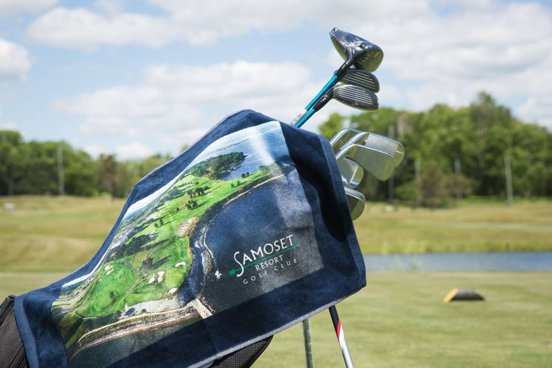 Samoset Golf Towel
