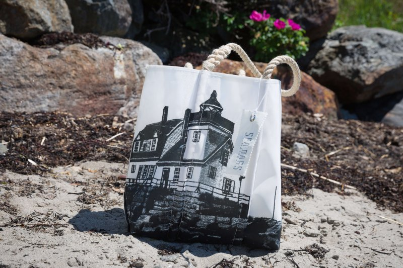 Rockland Breakwater Lighthouse Sea Bag