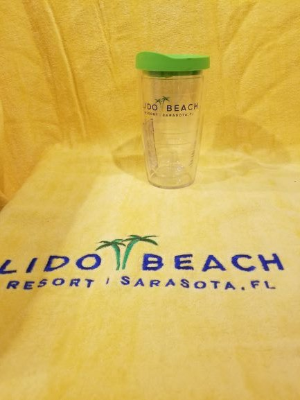 Tervis Tumblers- Lido Beach Resort