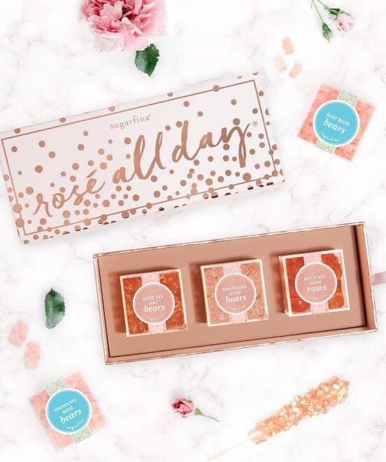 Sugarfina-Rose all Day Box Set