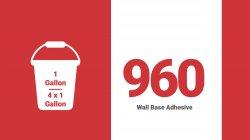 ADHESIVE-960 WALL BASE