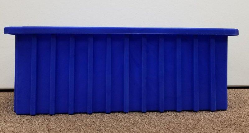 Image 0 of Akro Mils 33166 Bin Blue 16-1/2 x 10-7/8 x 6