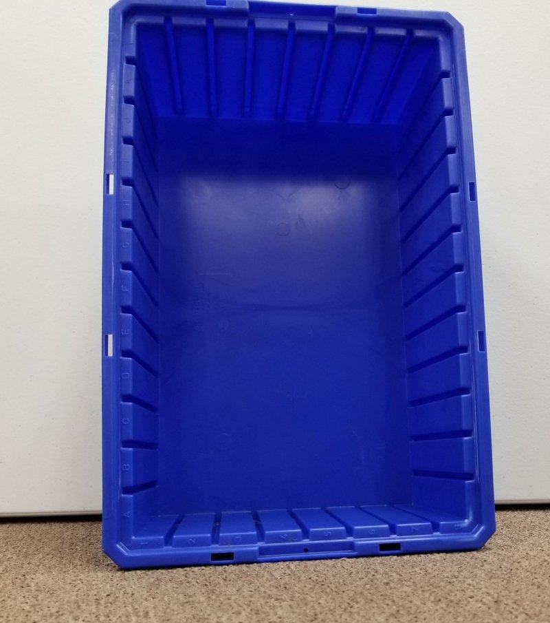 Image 1 of Akro Mils 33166 Bin Blue 16-1/2 x 10-7/8 x 6