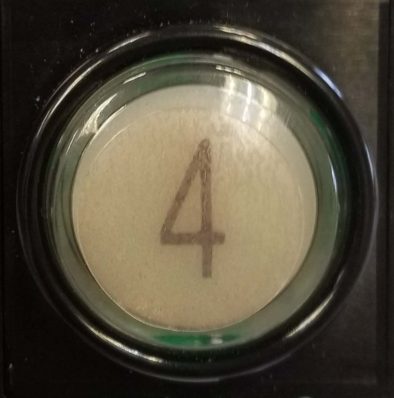 Image 0 of ANTIMICROBIAL ELEVATOR BUTTON COVERS (COPPER INFUSED)