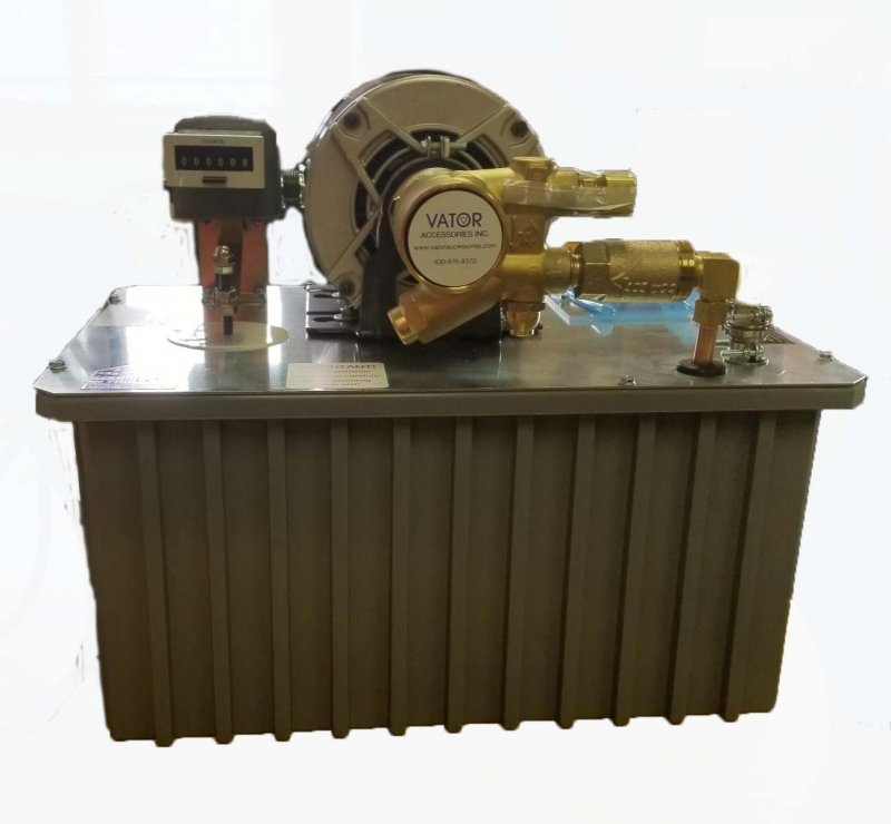 Image 0 of SP-CTR Heavy Duty 1/3 HP Scavenger Pump with Counter