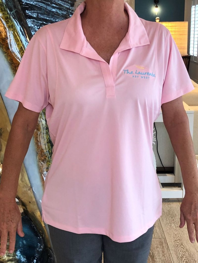 Pink Shirt women's   polo with collar