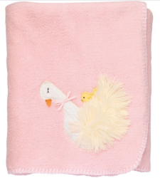 Goose Fleece Baby Blanket